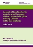 Unaccompanied Asylum Seeking Children - Cost Analysis