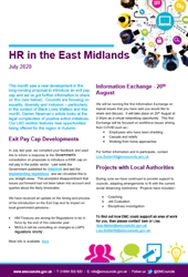 August 2020 Edition of the EMC HR Bulletin